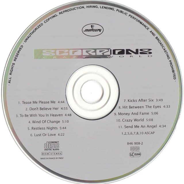 Scorpions - Crazy World (1990)