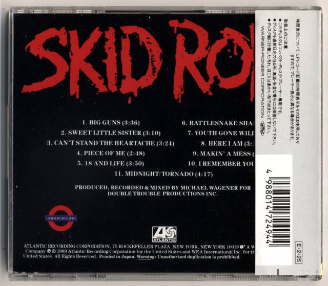 Skid Row (1989) - Skid Row