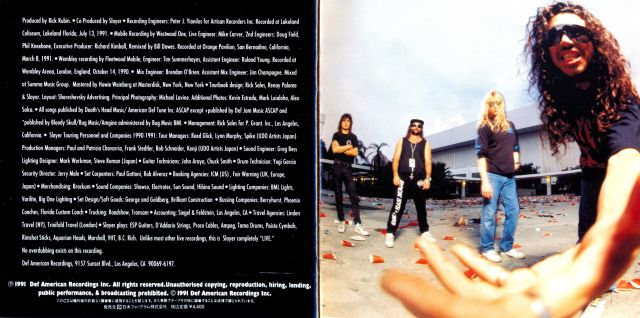 Slayer - Decade of Aggression (1991)