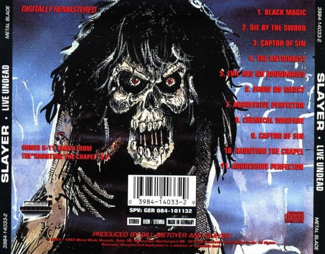 Live Undead (1984)