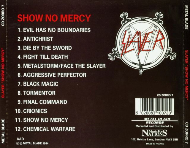 Show No Mercy (1983)