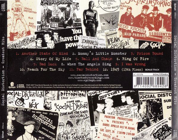 Social Distortion - Greatest Hits (2007)
