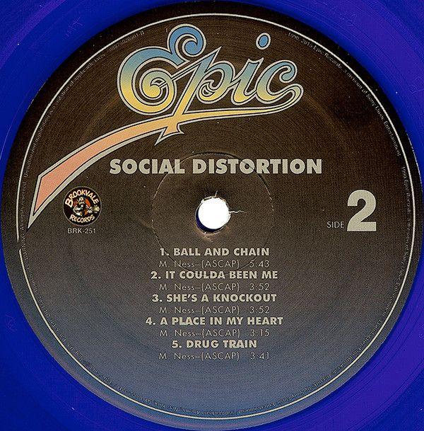 Social Distortion - Social Distortion (1990)