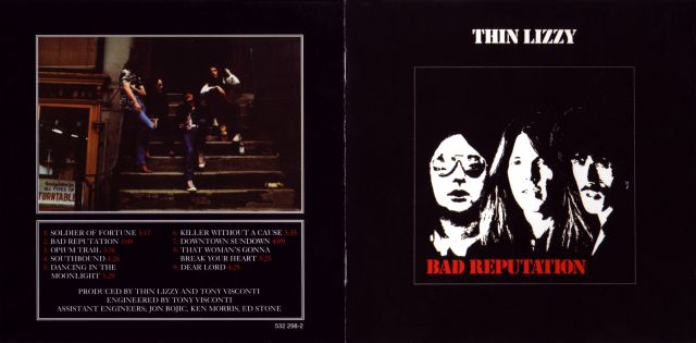Thin Lizzy - Bad Reputation (1977)