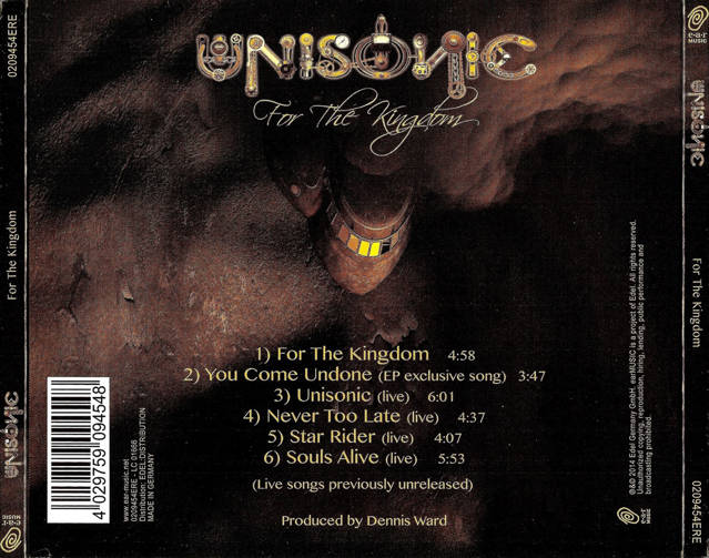 For the Kingdom (2014) - Unisonic