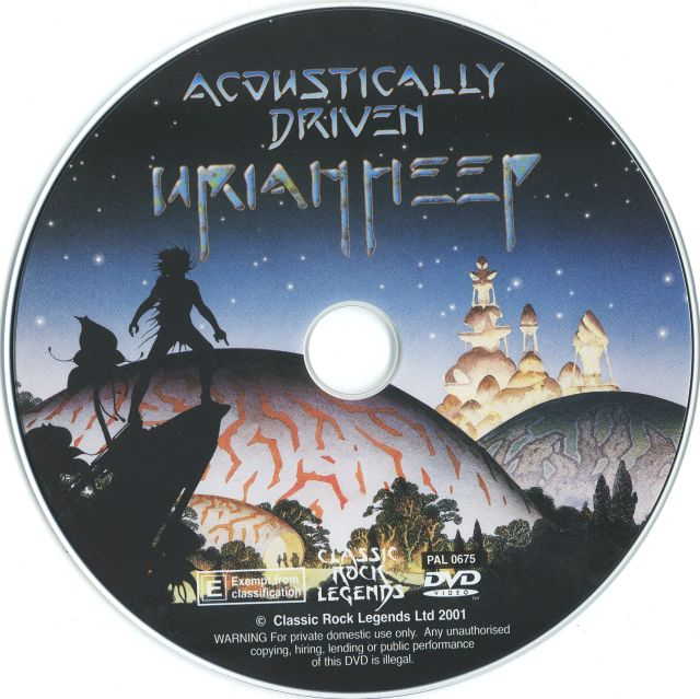 Uriah Heep - Acoustically Driven (2001)