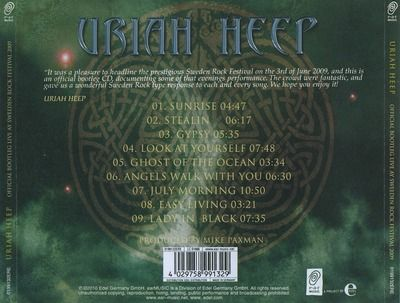 Official Bootleg: Live At Sweden Rock Festival 2009 (2010)