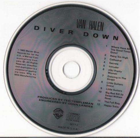 Van Halen - Diver Down (1981)