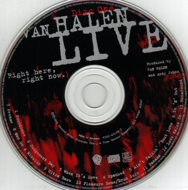 Van Halen - Live: Right Here, Right Now (1993)
