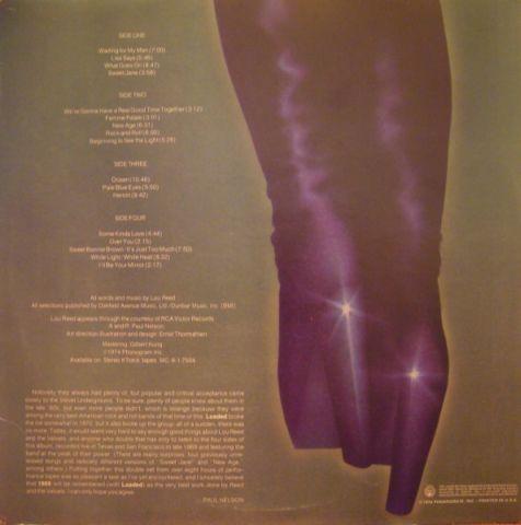 The Velvet Underground - 1969: The Velvet Underground Live (1974)