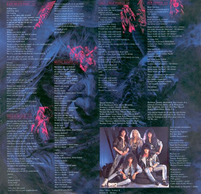 Triumph and Agony (1987)