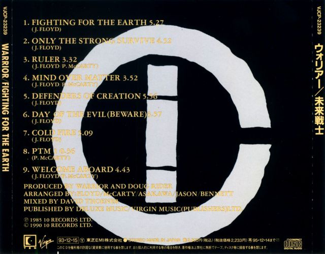 Fighting For The Earth (1985)