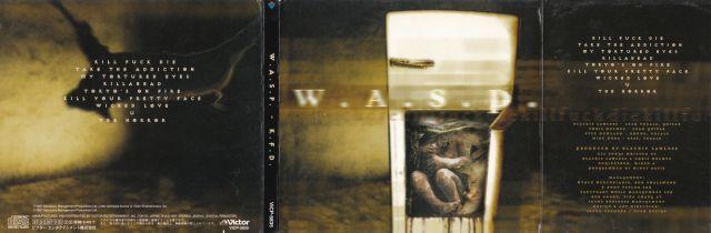 W.A.S.P. - Kill Fuck Die (1997)