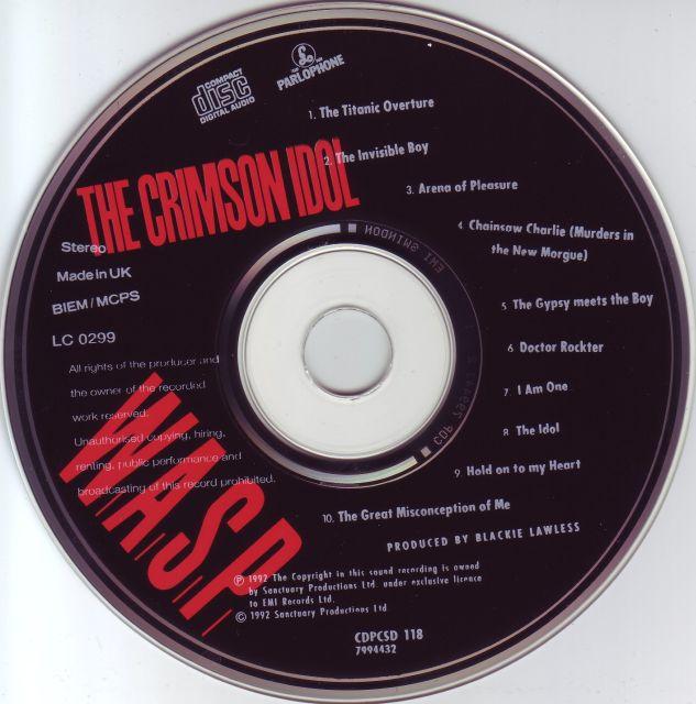 W.A.S.P. - The Crimson Idol (1992)