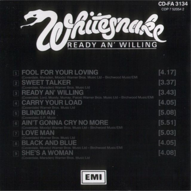 Ready an' Willing (1980)