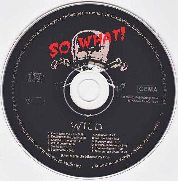 X-Wild - So What! (1994)