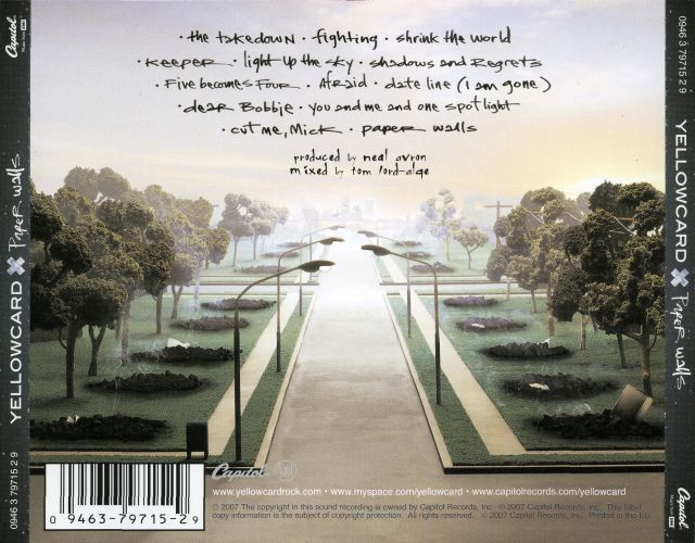Yellowcard - Paper Walls (2007)