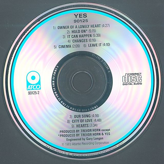 Yes - 90125 (1983)