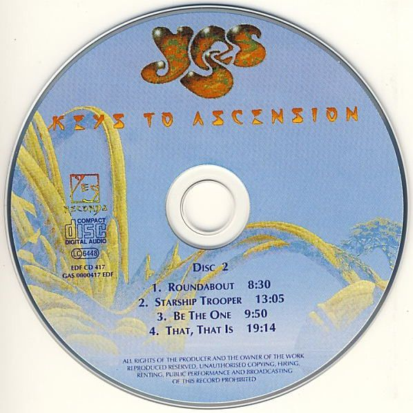Yes - Keys To Ascension (1996)
