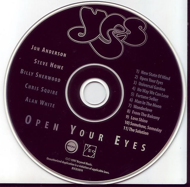 Yes - Open Your Eyes (1997)