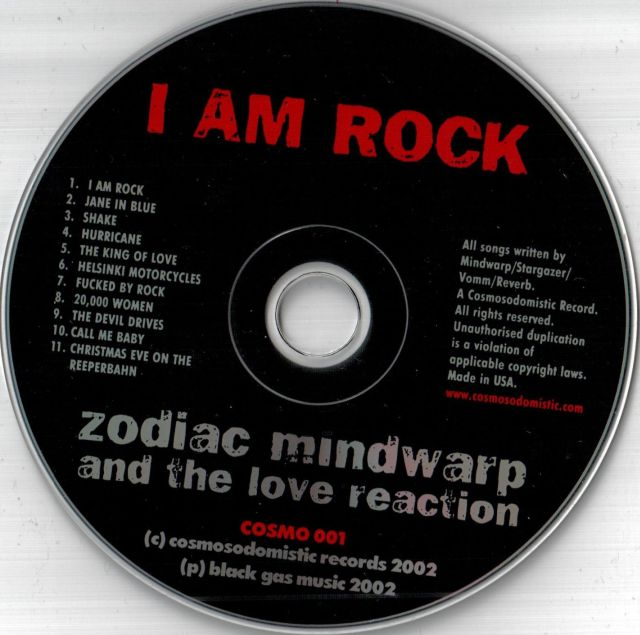 Zodiac Mindwarp & the Love Reaction - I Am Rock (2002)