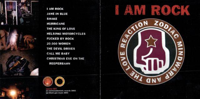 Zodiac Mindwarp & the Love Reaction - I Am Rock (2002)