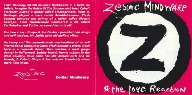 Zodiac Mindwarp & the Love Reaction - Live at Reading (1993)