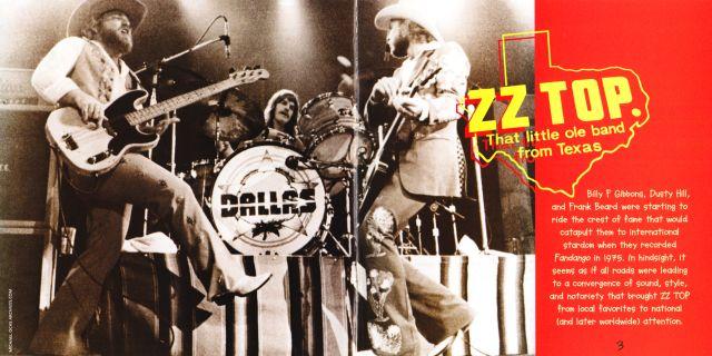 ZZ Top - Fandango! (1975)