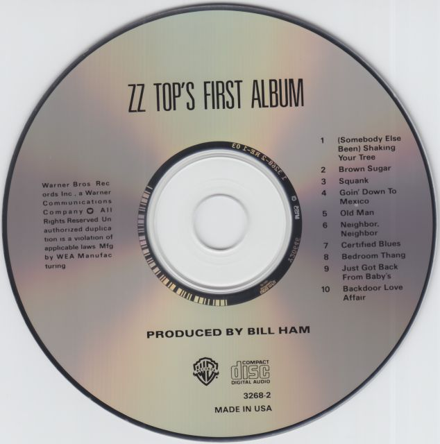 ZZ Top's First Album (1971)
