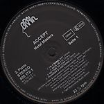 Accept - Metal Masters (1984)