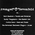 Avenged Sevenfold - Sounding the Seventh Trumpet (2001)