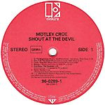 Mötley Crüe - Shout at the Devil (1983)