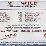 X-Wild - Monster Effect (1995)